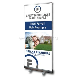 Next Day Pull-Up Banner Printing