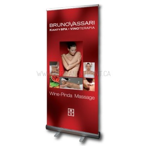 Rush Pull-Up Banner Printing