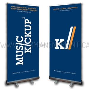 Fast Roll-Up Banners Printing Toronto